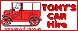 Tony's Car Hire