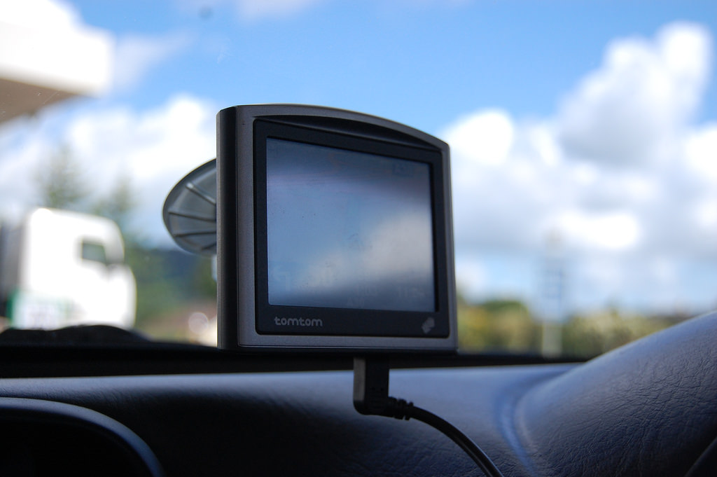 Gps Unit hired from Tonys Car Hire