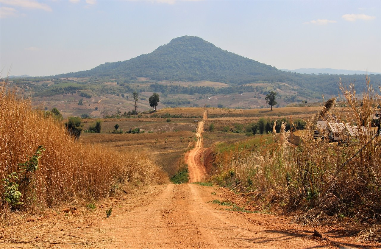 Dirt path in South Africa